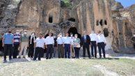 Vali Çiçek, Ayazini'de Projeleri İnceledi, Yatırımlar Hakkında bilgi Aldı