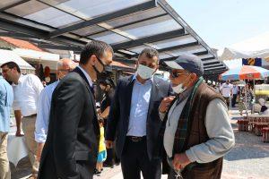 Kaymakam Bilici'den Esnaf Ziyareti